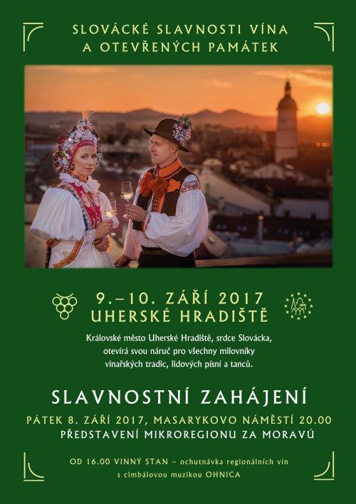 Slovácké slavnosti vína a otevřených památek 2017