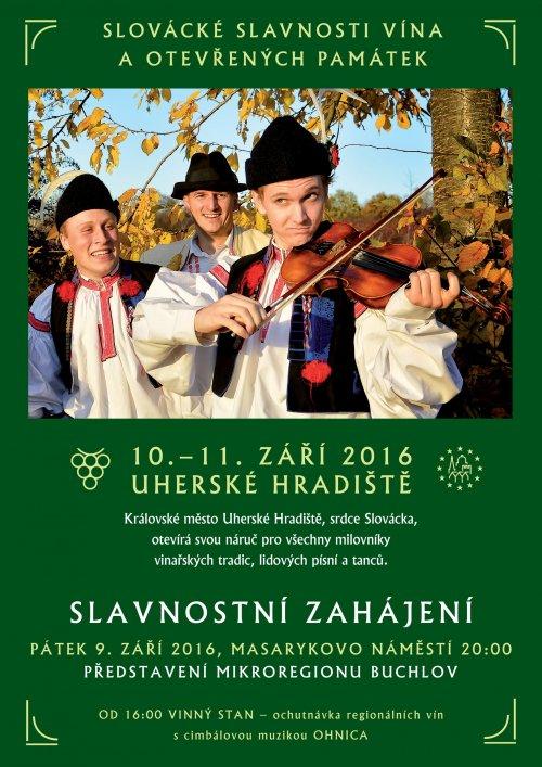 Slovácké slavnosti vína a otevřených památek