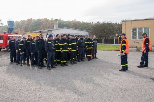 Jednotka SDH prošla výcvikem