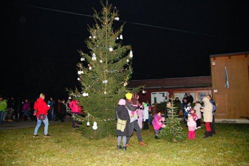 Rozsvícení vánočního stromu - fotky